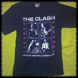 The Clash tee shirt